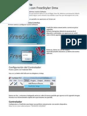 Manual Freestyler ESPAÑOL