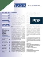 Plaxis Bulletin (s)