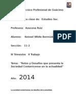 Retos y Desafios de CR en La Actualidad.