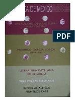 Biblioteca de México 94. Revista