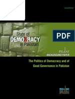 The Politics of Democracy and of Good Governance in Pakistan