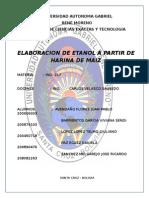 IND -217 Elaboración de Etanol