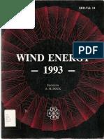 Wind Energy 1993