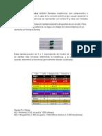 Preinfome Resistores de Cerámica
