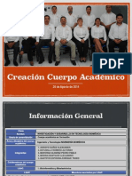 UP 2014 Cuerpo Academico IB
