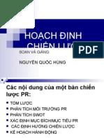 Hoach Dinh Chien Luoc Pr