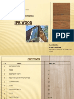 External Finishes-IPE Wood