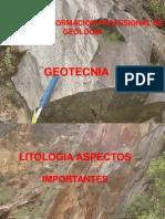 Geotecnia y Litologia