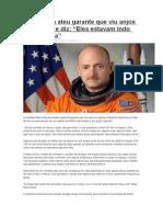 Astronauta Ateu Garante Que Viu Anjos No Espaço e Diz