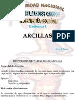Arcillas, Propiedades Mecanicas, Identificacion y Problemas en La Ingeniería Geotecnia
