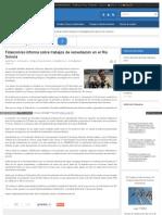 12-02-2015 Fideicomiso informa sobre trabajos de remediación en el Río Sonora