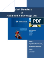 Market Structure of Akij Foods Bebarage Ltd.-libre