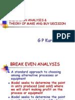 02 Break Even Analysis