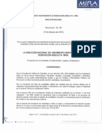 Resolucion No. 98 Del 19 de Febrero de 2015