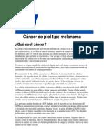 Cancer de Piel Melanoma ACS