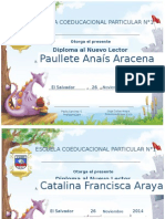 Diplomas Primero