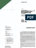 Fundamentos de Matematica Elementar - Vol 03 - Trigonometria