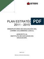 Plan Estratégico 2011-2015 Observatorio de Educación de Uninorte