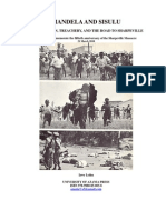 MANDELA and SISULU - Equivocation, Treachery and the Road to Sharpeville