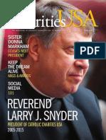 Charities USA Magazine Winter 2015 Issue