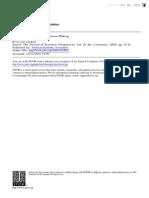 Frederick CognitiveReflectionandDecisionMaking