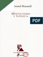 Unlock-Russell Bertrand - Misticismo Y Logica
