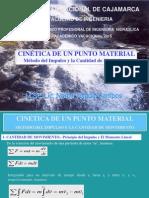 Cinetica de Un Punto Material.- Impulso y Cantidad de Movimiento - Vac 2015