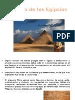 Ciencia de Los Egipcios