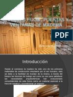Muebles Fijos Puertas y Ventanas de Madera