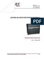 OPU-1 Sistema de Onda Portadora Universal_Descripción Rev.2 Febrero 2010