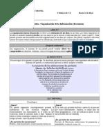 Organización de La Información. Resumen (Guía de Contenidos)