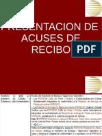 Presentacion de Acuses de Recibo