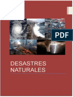 MONOGRAFIA - DESASTRES NATURALES