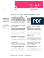 Accenture Outlook Driving Successful Change Through Journey Management