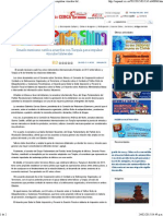 13-02-15 Senado mexicano ratifica acuerdos con Turquía para impulsar vínculos bilaterales