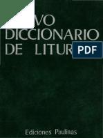 Nuevo Diccionario de Liturgia I