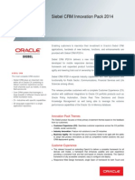Siebel CRM Innovation Pack 2014