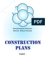 Ohp Water Structurizer Construction Plans English