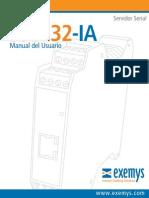 Manual SSE232-IA