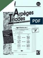 Guitare - Arpéges 7 - Editions Connection