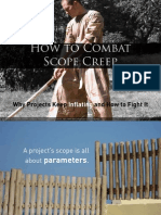 How to Combat Project Scope Creep