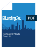 Lending Club Q4 2014 Results
