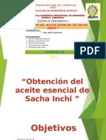 Aceite Esencial de Sacha Inchi