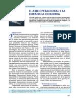EL ARTE OPERACIONAL Y LA ESTRATEGIA CONJUNTA