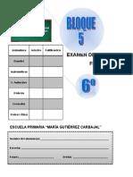 6to Grado - Examen Final (2013-2014)DESCARGADO