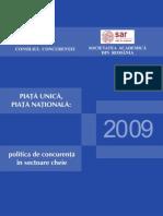 Raport concurenta 2009