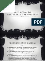 Exposicion de Pasteleria y Reposteria