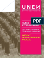 Programa Orden Desplazamiento Policial Web