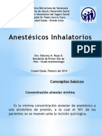 Anestesicos Inhalatorios. Desflurano y Nitroso