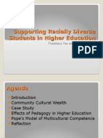 supporting racially diverse students in higher education